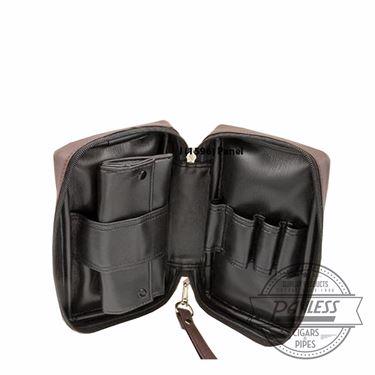 Castleford 4 Pipe Combo Pouch Black