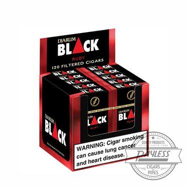 Djarum Black Filtered Ruby (10 packs of 12)