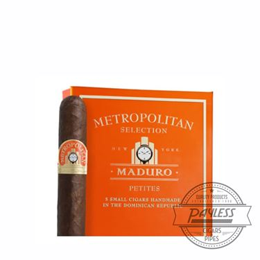Nat Sherman Metropolitan Maduro Petites (5 packs of 5)