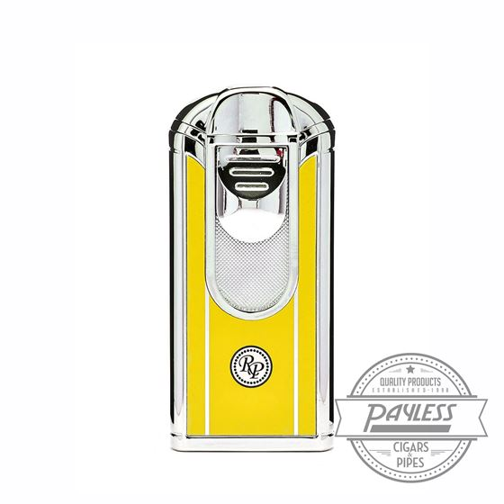 Rocky Patel South Beach Quad Jet Lighter - Yellow