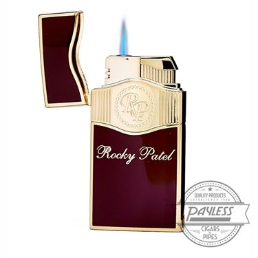 Rocky Patel Vintage Limited Edition Dual Lighter - Red/Gold