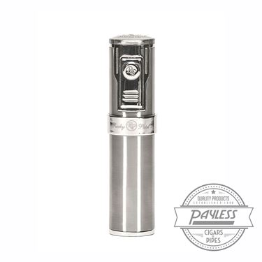 Rocky Patel Diplomat II 5-flame Lighter - Silver