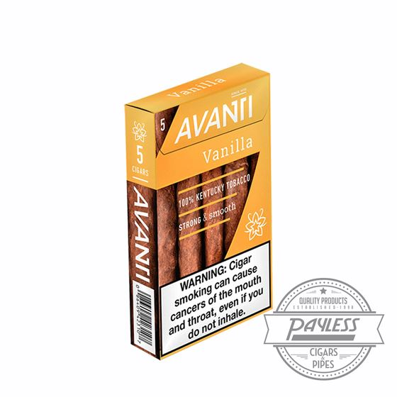 Avanti Vanilla (10 packs of 5)