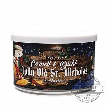 Cornell & Diehl Jolly Old St. Nicholas Tin
