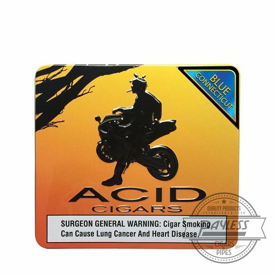 Drew Estate Acid Krush Blue Connecticut Cigarillos (10 pack tin)