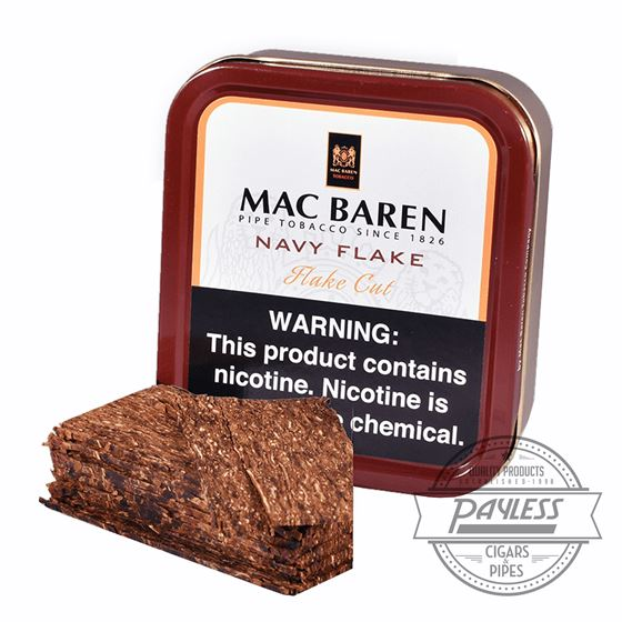 Mac Baren Navy Flake Tin