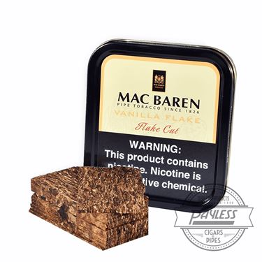 Mac Baren Vanilla Cream Flake Tin