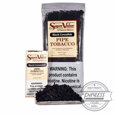 Super Value Black Cavendish (1.5 Oz Pouch)