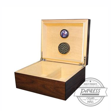 Equinox Dark Walnut Humidor (50-ct)