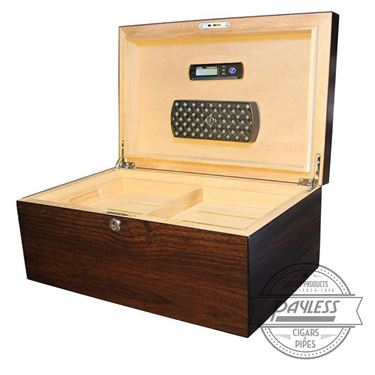 Millennium Dark Walnut Humidor (125-ct)