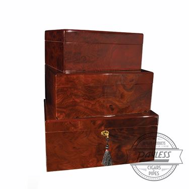 Savoy Walnut Humidor - Medium
