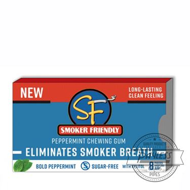 SF Peppermint Gum (12 packs of 8)