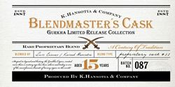 Picture for category Gurkha Blendmaster's Cask