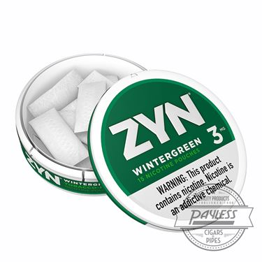 Zyn Wintergreen 3mg