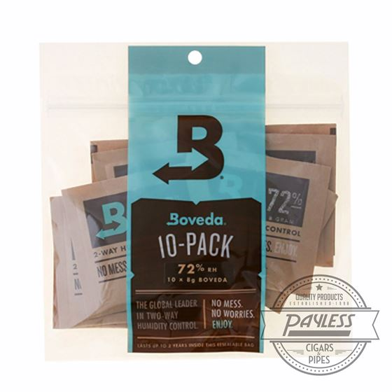 Boveda 72% 8 Gram Humidipak (10 packs per unit)
