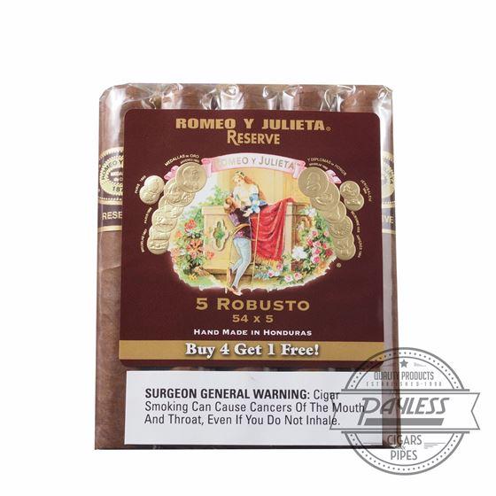 Romeo y Julieta Reserve Robusto 5-Pack