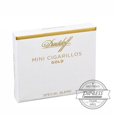 Davidoff Mini Cigarillos Gold (5 packs of 20)