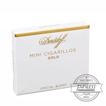 Davidoff Mini Cigarillos Gold (10 packs of 10)