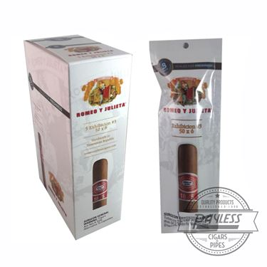 Romeo y Julieta 1875 Exhibicion #3 Fresh Loc (5-pack)
