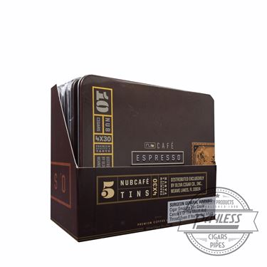 Nub Cafe Espresso 430 (5 tins of 10)