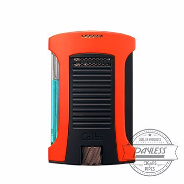 Colibri Daytona Single-Jet Flame Lighter Orange & Black (LI770T8)