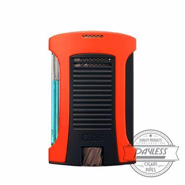Colibri Daytona Single-Jet Flame Lighter Orange & Black (LI770T8)
