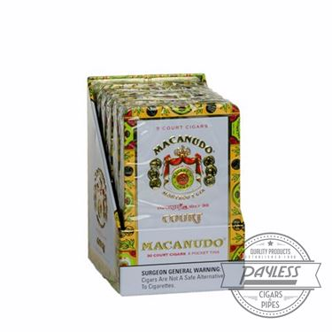 Macanudo Cafe Court Tin (6 tins of 5)