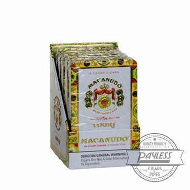 Macanudo Cafe Court Tin (6 tins of 5)