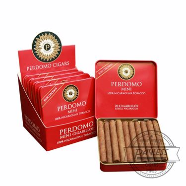 Perdomo Mini Cigarillos Sun Grown Tins