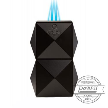 Colibri Quasar Tabletop Triple Flame Lighter - Black (LI710T1)