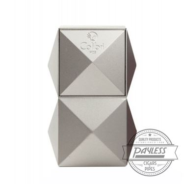 Colibri Quasar Tabletop Triple Flame Lighter - Silver (LI710T2)