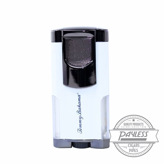 Tommy Bahama Longboard White Trip Torch Lighter