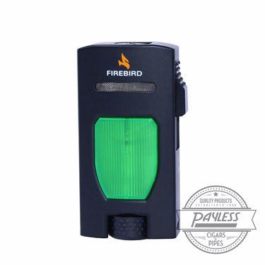 Colibri Firebird Rouge Jet Lighter - Green
