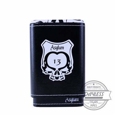 Asylum 13 Super Size Cigar Case - White