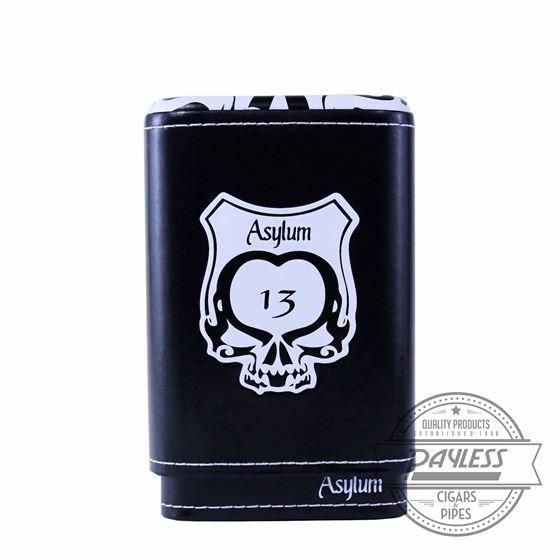 Asylum 13 Super Size Cigar Case - White
