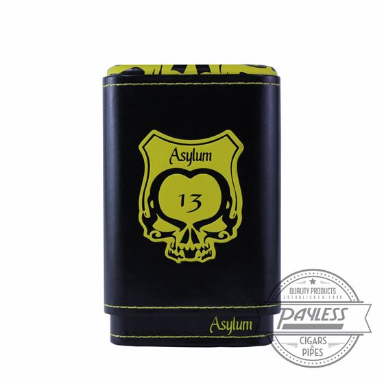Asylum 13 Super Size Cigar Case - Yellow