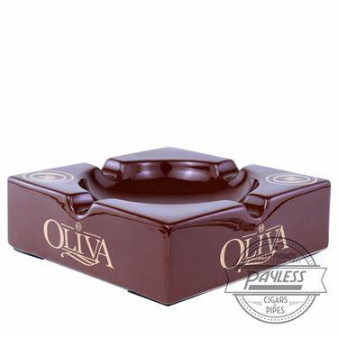Oliva Brown Ashtray