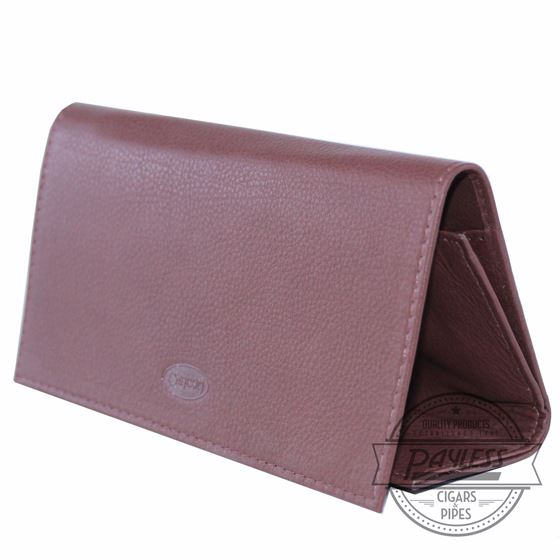 Chacom Leather Rollup Pouch Havana