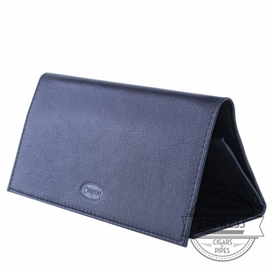 Chacom Leather Rollup Pouch Black
