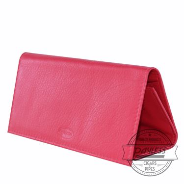 Chacom Leather Rollup Pouch Red