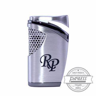 Rocky Patel Single Torch Lighter - Silver