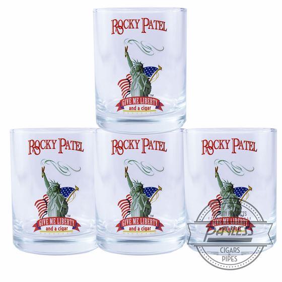 Rocky Patel Glass Set of 4 - Liberty