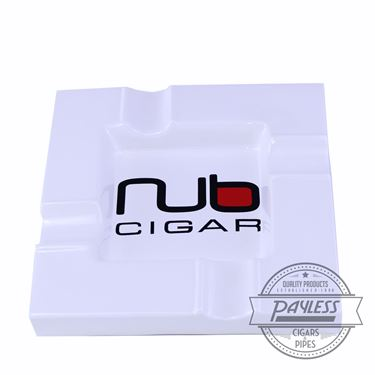 Nub White Ashtray
