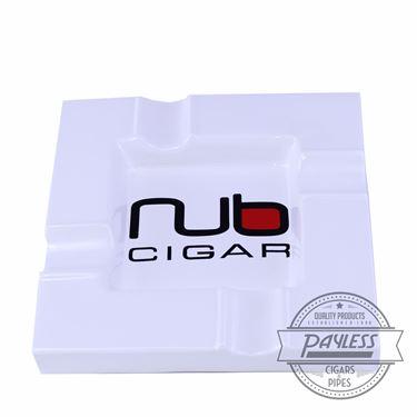 Nub White Ashtray