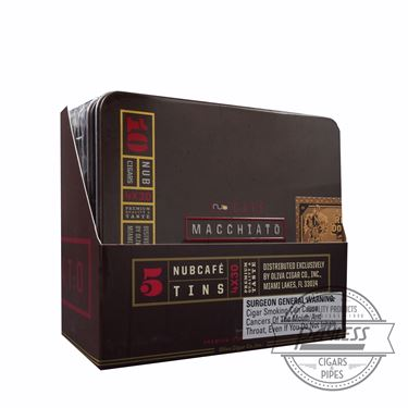 Nub Cafe Macchiato 430 Tins