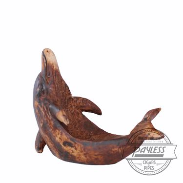 Pipe Stand Dolphin Brown