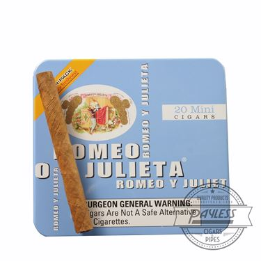 Romeo y Julieta 1875 Mini Mild Blue Tins