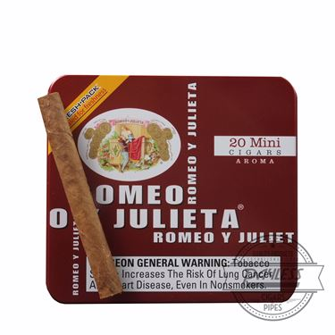 Romeo y Julieta 1875 Mini Aroma Red Tins