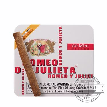 Romeo y Julieta 1875 Mini Original White Tins