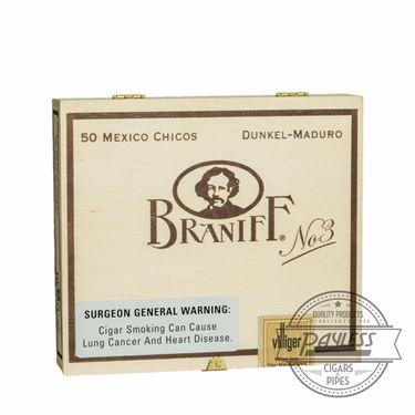 Braniff No. 3 Chicos Maduro 50-count box